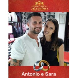 Sposi Antonio e Sara