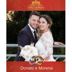 Matrimonio Donato e Morena