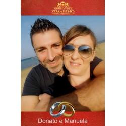 Matrimonio Donato e Manuela