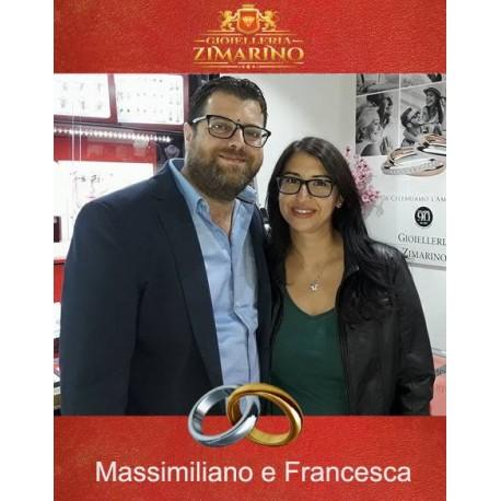 Matrimonio  Massimiliano e Francesca