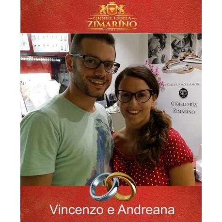 Matrimonio  Vincenzo e Andreana