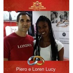 Matrimonio Piero e Loren Lucy