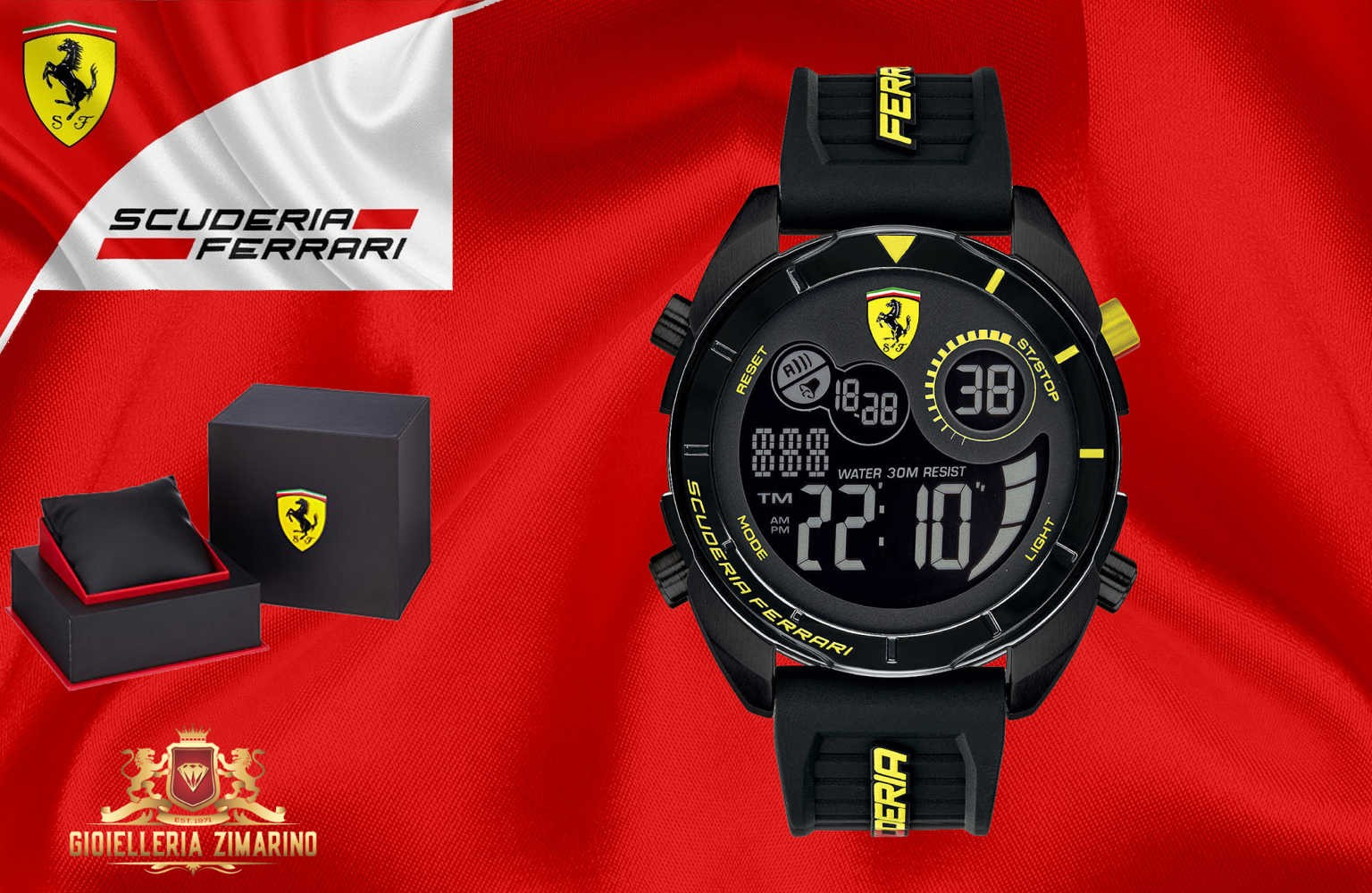 Uomo Modello Orologii Ferrari Forza XwiTPlukZO